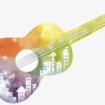 Guitarra la bianca M