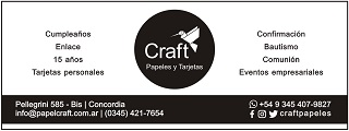 Craft Papeles y Tarjetas