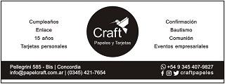 Craft Papeles y Tarjetas